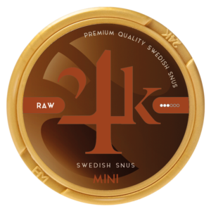 24k Mini snus raw