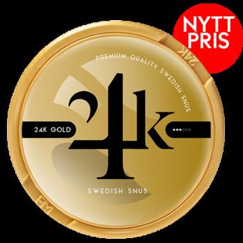 24k gold white portion snus