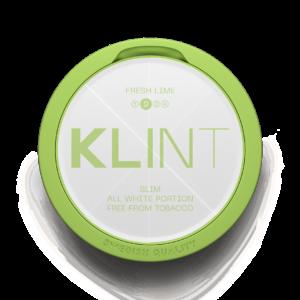 KLINT Fresh Lime all white snus