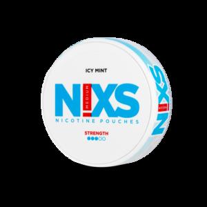 Nixs Icy Mint all white snus