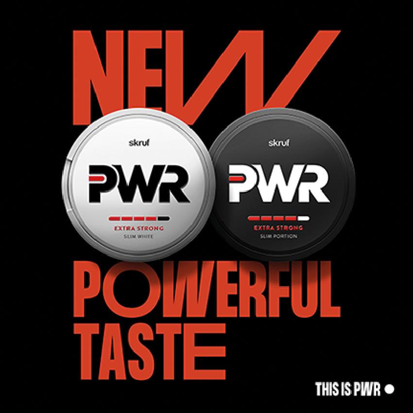 skruf power snus pwr