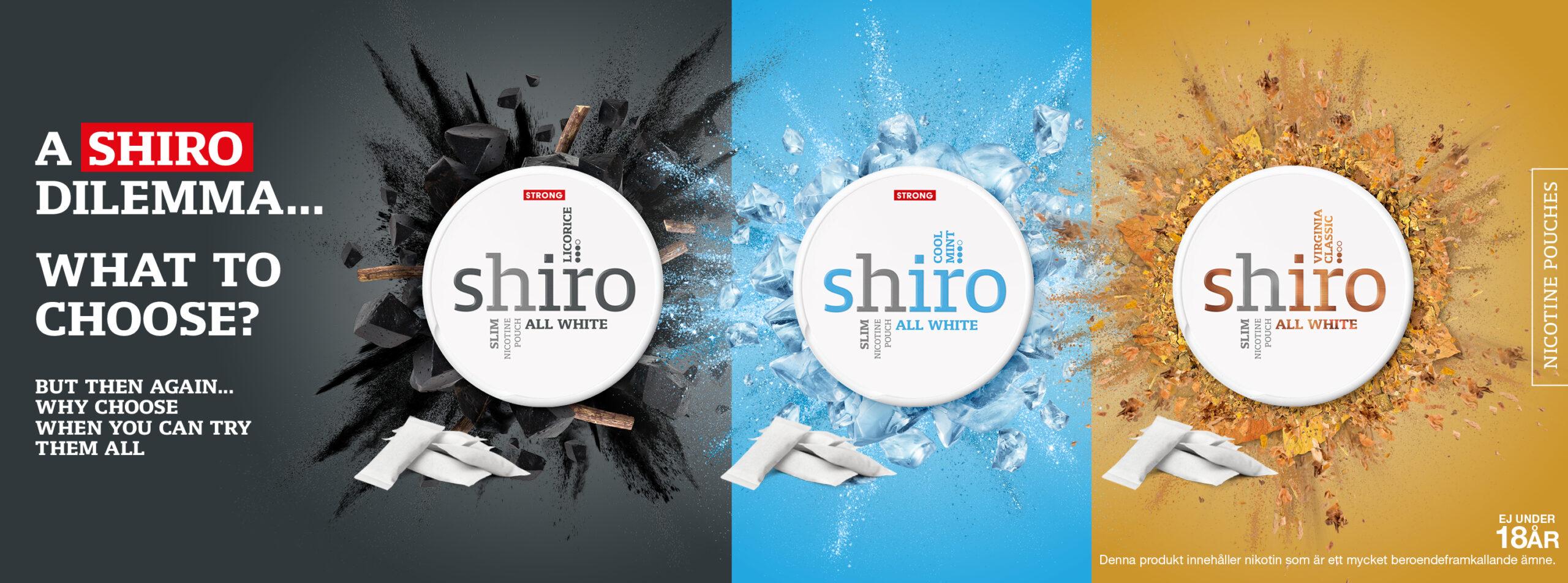shiro all white snus banner