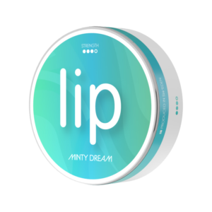 lip minty dream all white snus