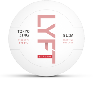 lyft tokyo zing strong all white snus