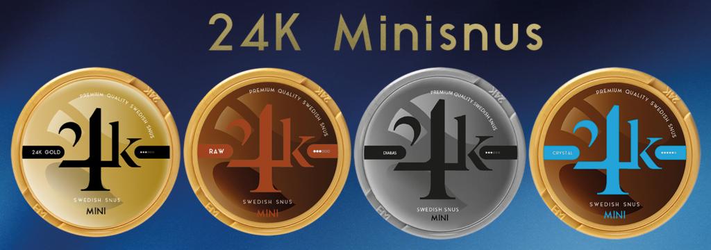 24k Minisnus banner snus