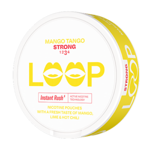 loop mango tango strong all white snus