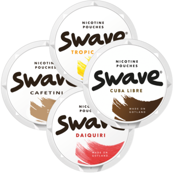swave all white snus mix pack
