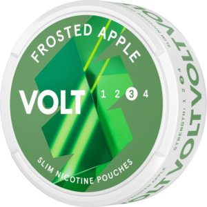 Volt frosted apple strong all white snus
