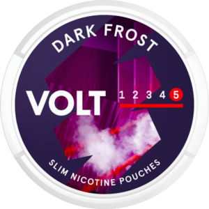 volt dark frost extra strong snus