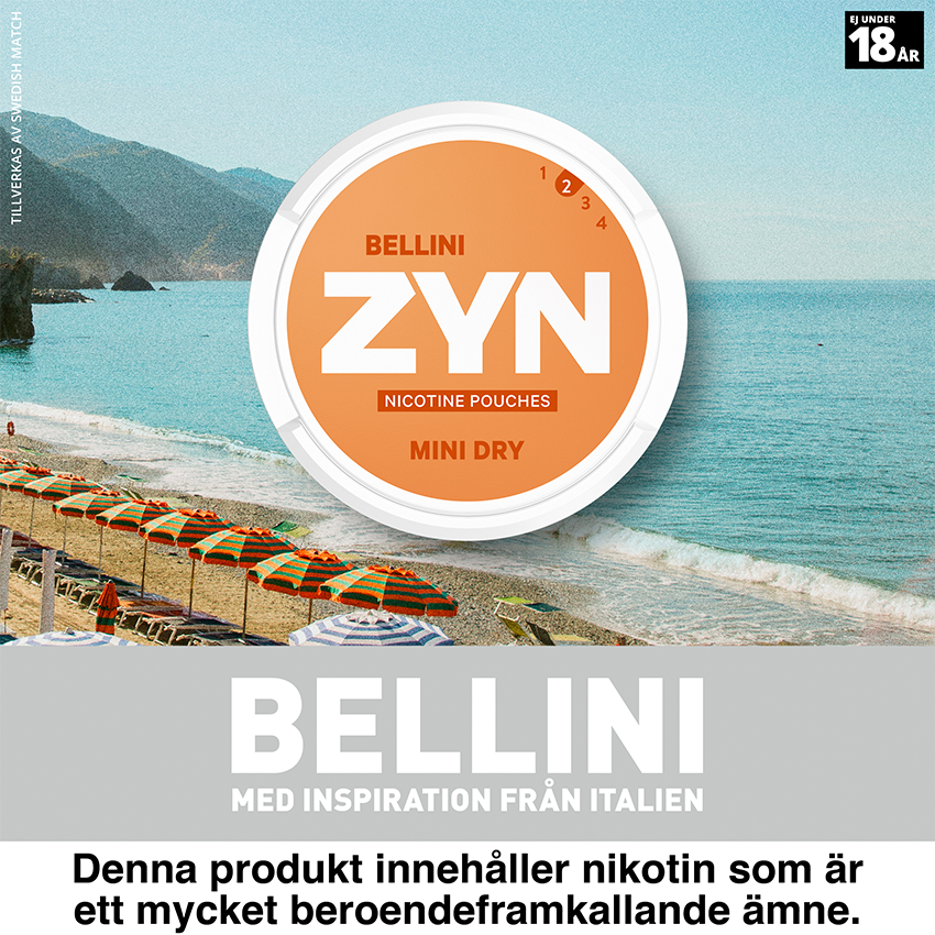 zyn bellini mini all white snus