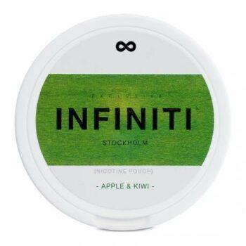 Infiniti Apple-Kiwi all white snus