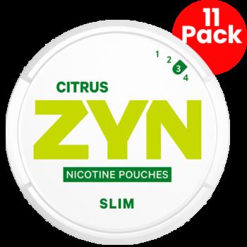 zyn citrus slim 3 strong