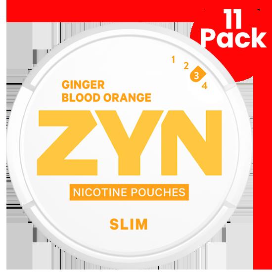 zyn ginger blood orange