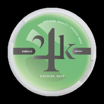 24K Emerald wintergreen portionssnus