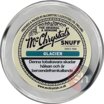 McChrystals Glacier Luktsnus