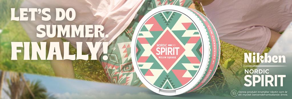 nordic spirit melon square limited edition nikben