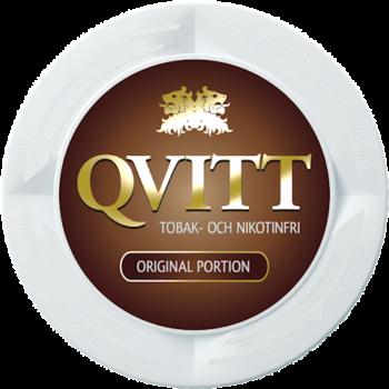 Qvitt Original Portion Nikotinfritt Snus