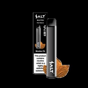 engångs ecigg pure tobacco salt switch