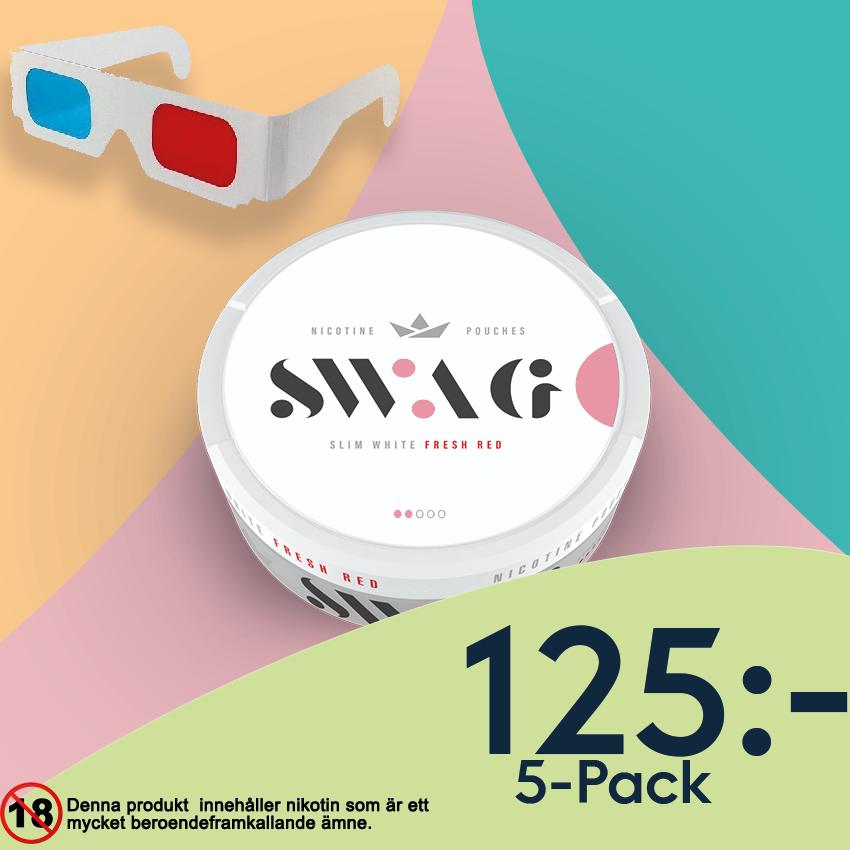 swag all white snus banner