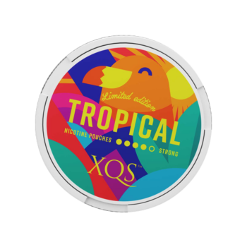 xqs tropical all white snus limited edition