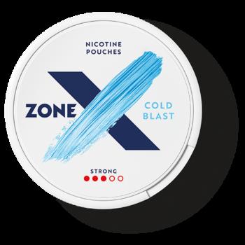 zonex cold blast strong all white snus