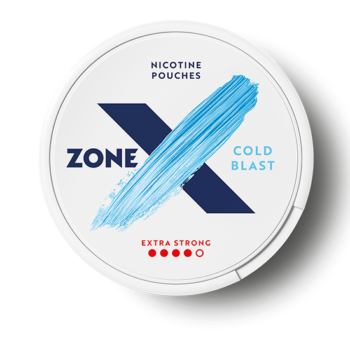 zonex cold blast extra strong all white snus zone x