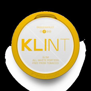 klint passionsfrukt passionfruit all white snus