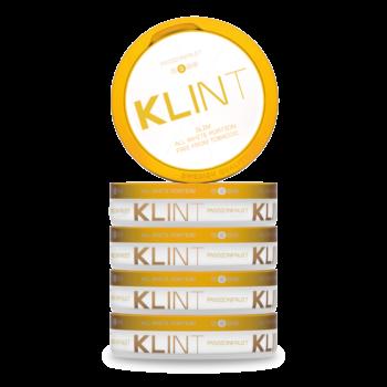 klint passionfruit all white snus
