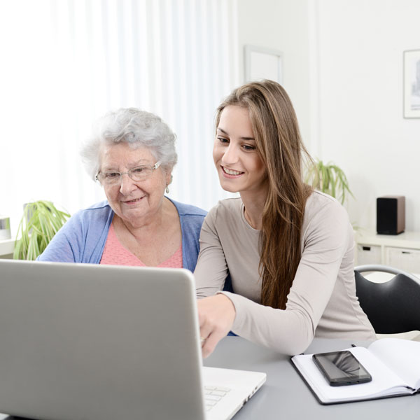 aide adminsitrative - personnes agées