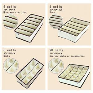 MIU Color - Organisateur de tiroirs - dimensions