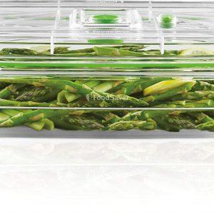 Foodsaver - boîte transparente 2,3L - asperges