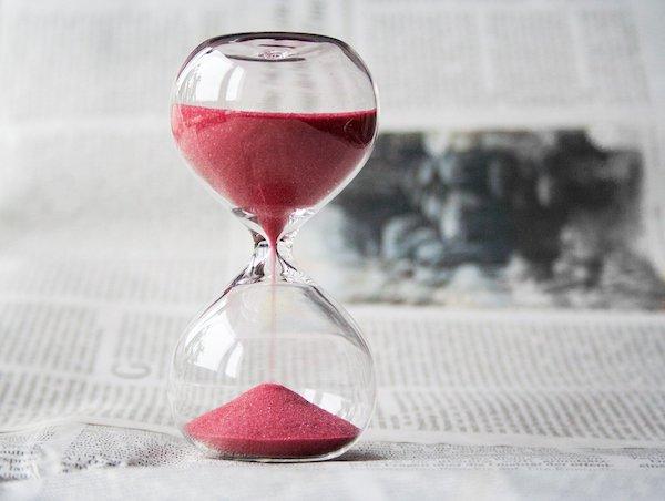 Prendre le temps - Sablier