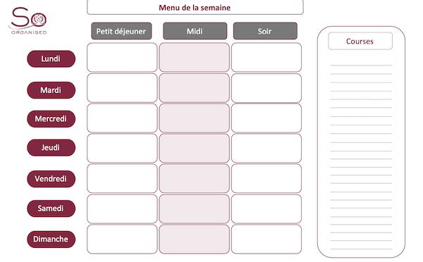 So Organised - Tableau menu - jpg