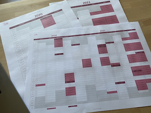 So Organised - Calendrier scolaire