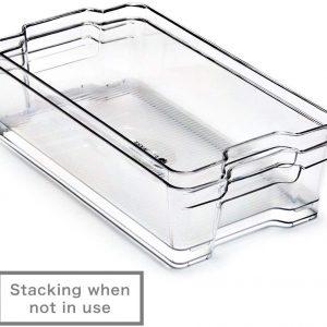 EzoWare - Panier rangement plastique
