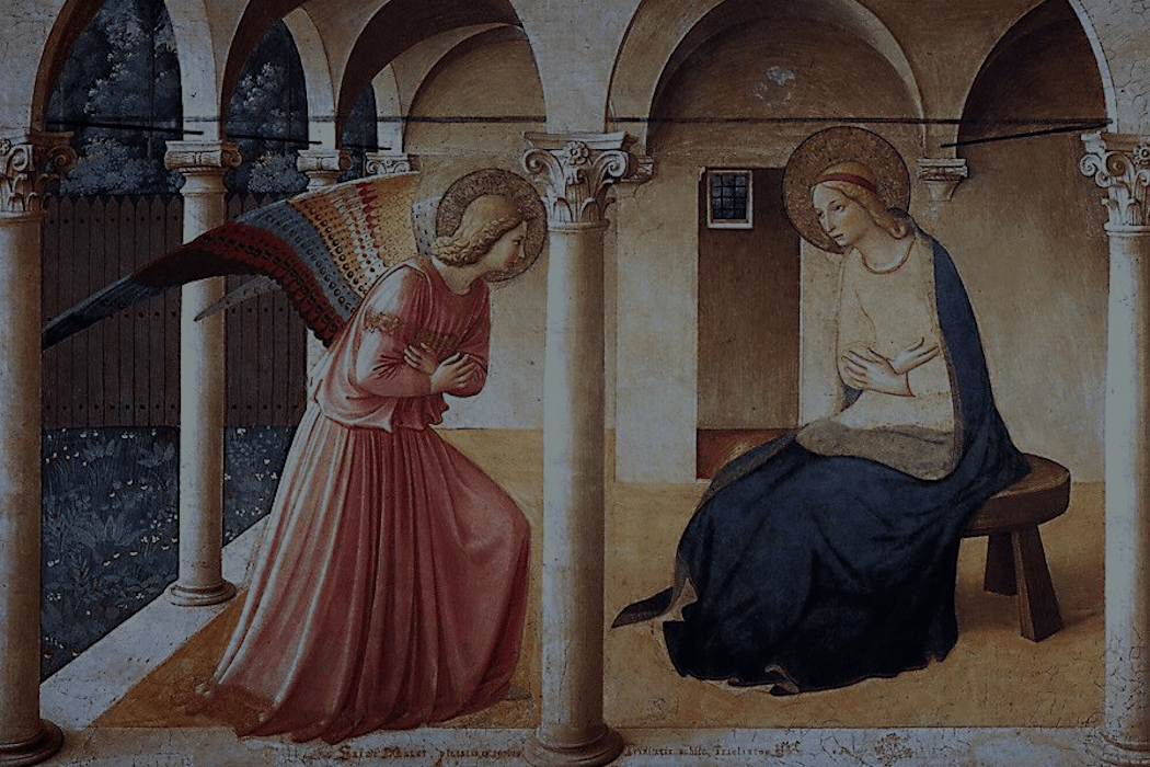 Annunciation by Fra' Angelico | Society of the Holy Rosary