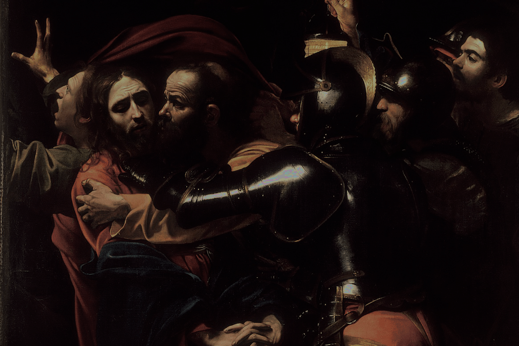 Presa di Cristo nell'orto by Caravaggio | Society of the Holy Rosary