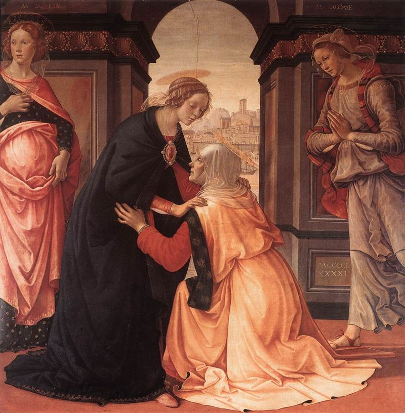 The Visitation | Domenico Ghirlandaio | Second Joyful Mystery