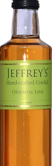 Jeffreys Oriental Lime sirup 500 ml - JPG