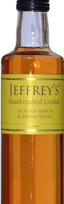 Jeffreys Sicilian Lemon & Warm Spices sirup 500 ml. -JPG