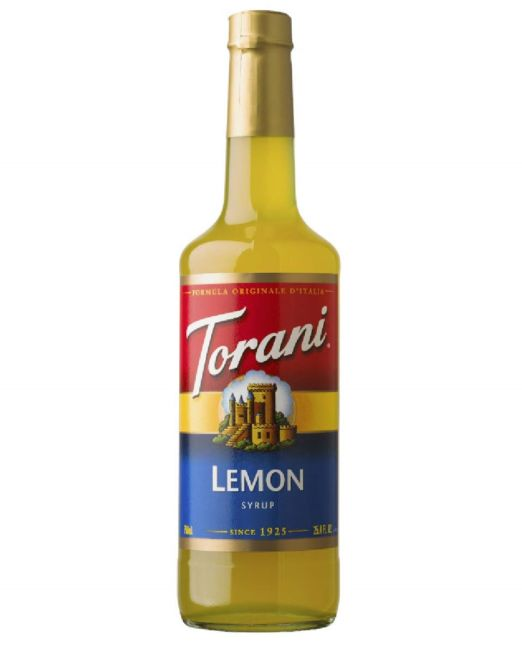 torani - 750ml - lemon
