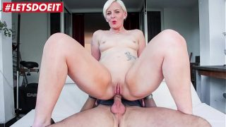 LETSDOEIT – French Milf Gets Both Holes Stretched by Casting Agent