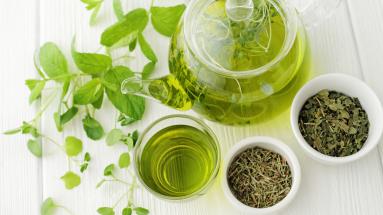 Grøn te - Billede