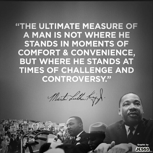 M Luther King Quote