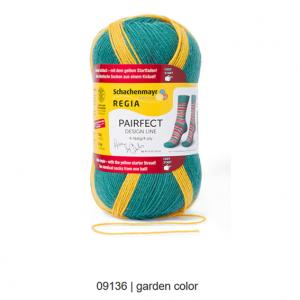 Arne & Carlos strømpegarn - farve Garden
