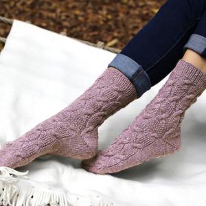 Sokkegarn ensfarvet