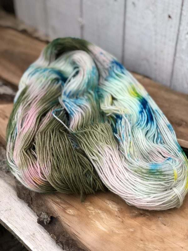 Regia håndfarvet strømpegarn fra sokkegarn