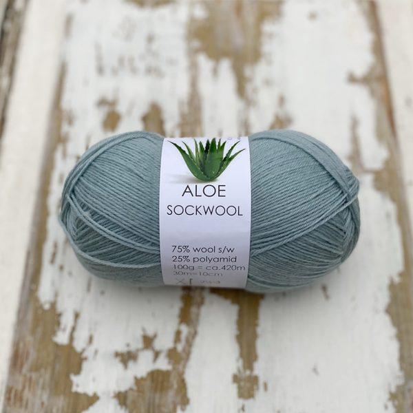 Aloe Sockwool strømpegarn Hjertegarn