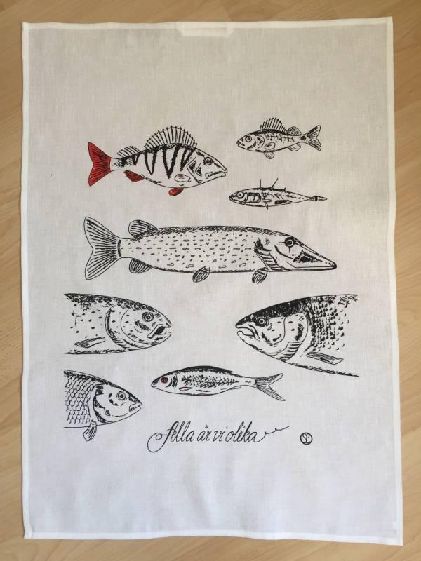 handduk fiskar
