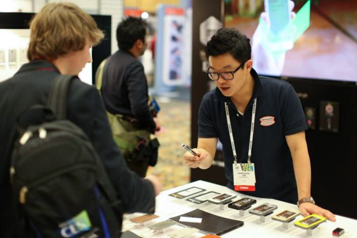 CES Johny Krahbichler Soliton PR Trade show journalist press